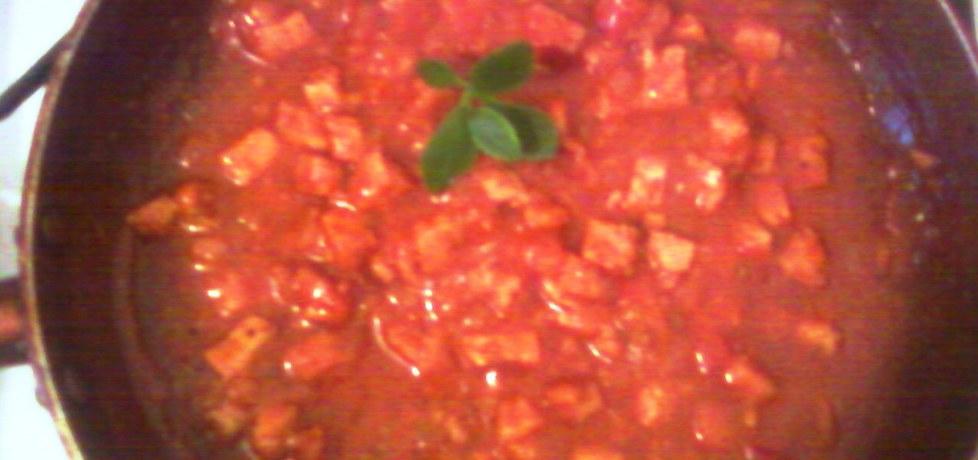 Sos do spaghetti z kotletem schabowym (autor: suzana ...