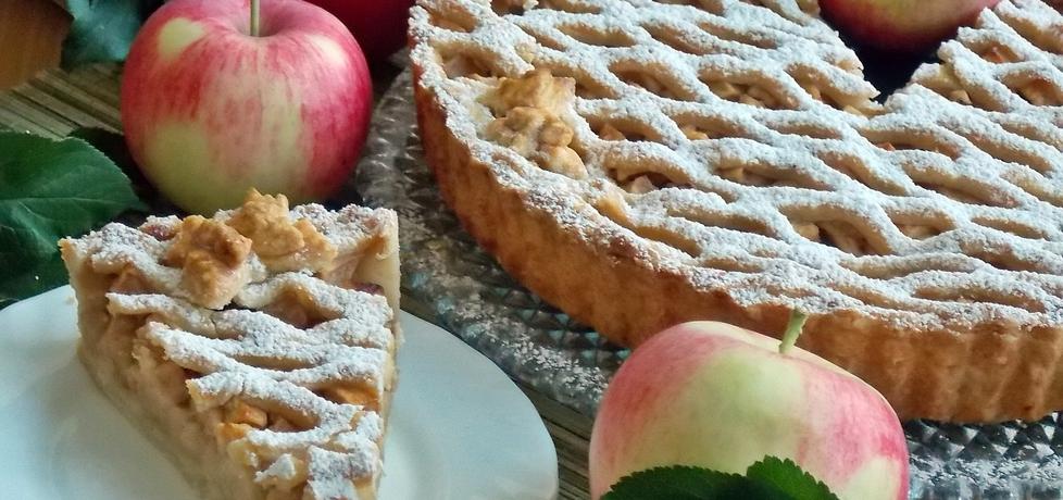 Tarta jabłecznik (autor: mniam)