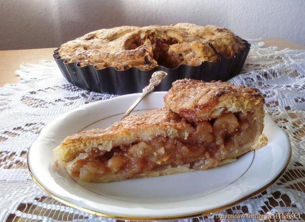 Apple pie  amerykański placek z jabłkami