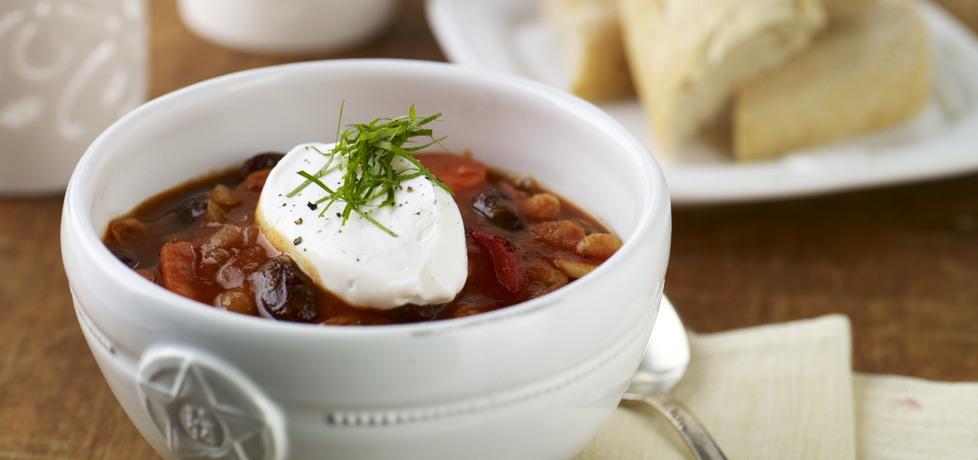Na ciepło: warzywny gulasz z fasolą i pomidorami (autor: doradca ...