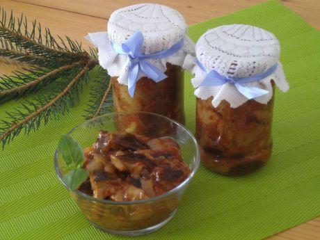 Przepis  sałatka grzybowa na zimę przepis