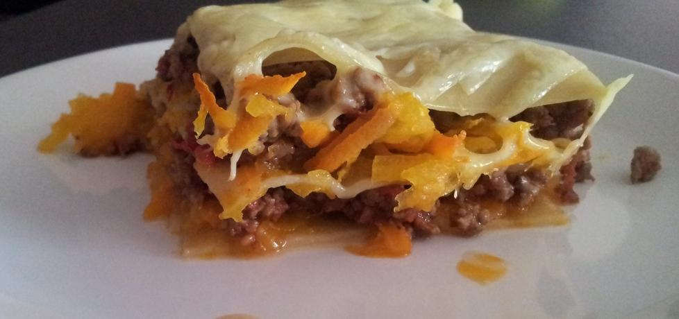 Lasagne mięsno  dyniowa (autor: arbuzowo)