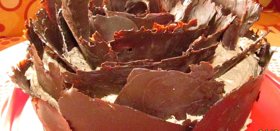 Tort podwójnie czekoladowy (autor: joanna-kryla)
