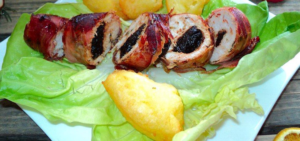 Filet z suszoną śliwką w szynce parmeńskiej (autor: anna133 ...