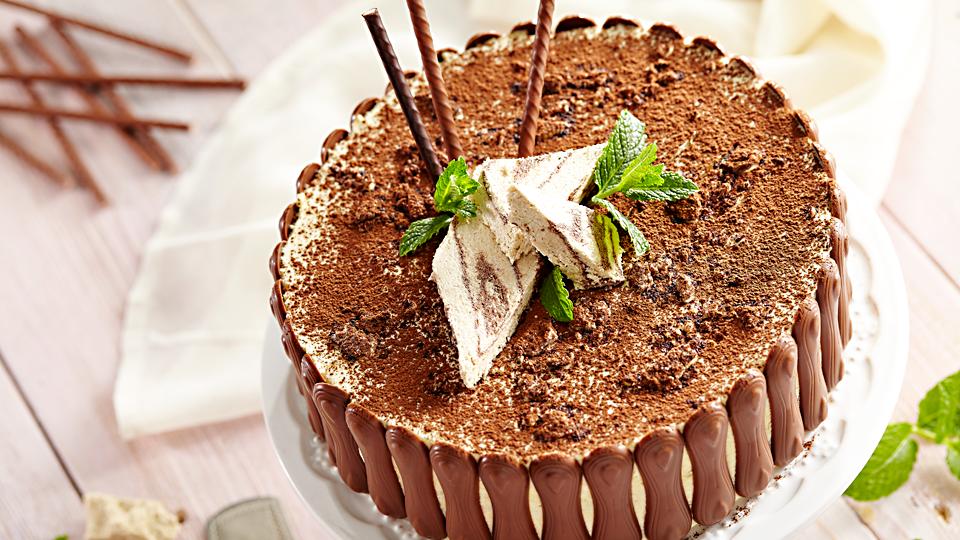 Przepis na macedoński tort chałwowy