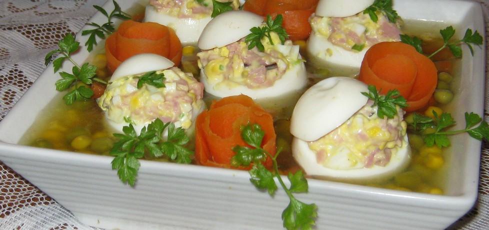 Faszerowane jajka w galarecie (autor: katarzynka455 ...