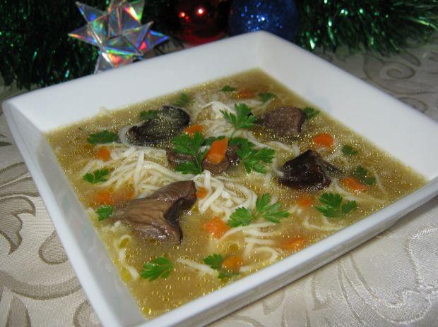 Aromatyczna zupa grzybowa przepis