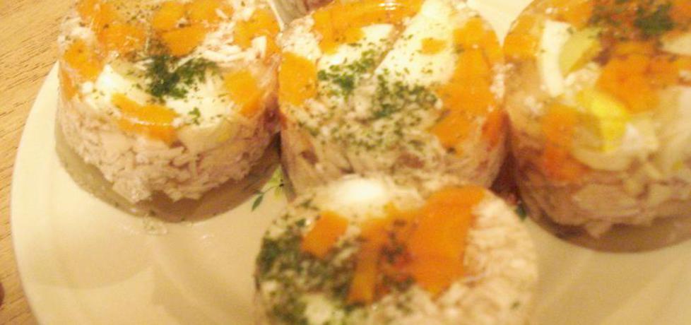 Tymbaliki drobiowe z jajkiem i warzywami (autor: ania67 ...