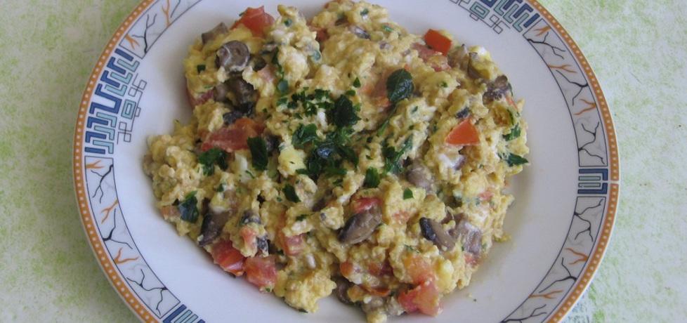 Jajecznica z pieczarkami i pomidorami (autor: ania321 ...