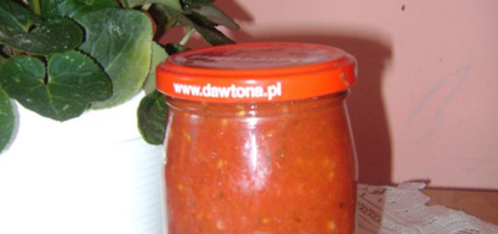 Sos pomidorowy w słoiki. (autor: izabelabella81)