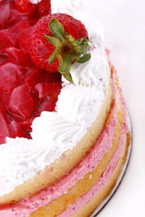 Ciasto z truskawkami  prosty przepis i składniki