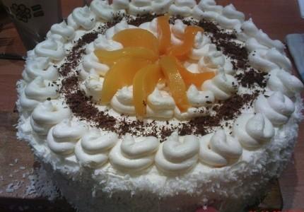 Tort owocowy