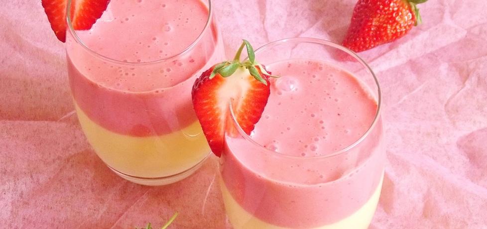 Koktajl z mango i truskawek (autor: malgorzata37)