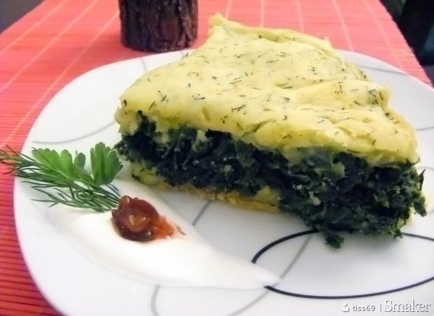 Zapiekanka z jarmużem (wegetariańska)