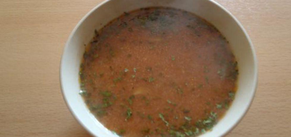 Zupa pomidorowa z ryżem (autor: magula)