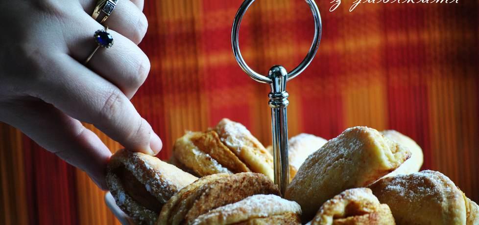 Ciasteczka całuski z jabłkami (autor: smerfetka79)