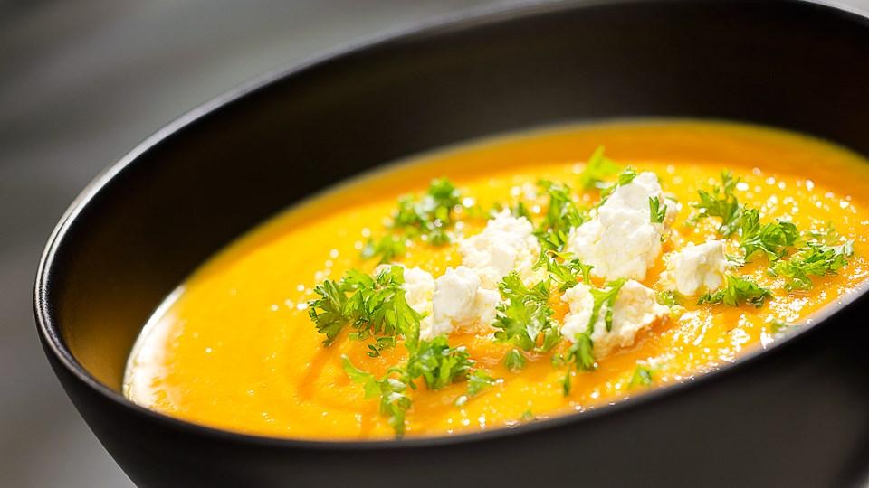 Okrasa łamie przepisy zupa dyniowa