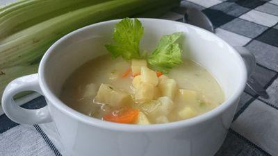 Zupa selerowa z szybkowaru