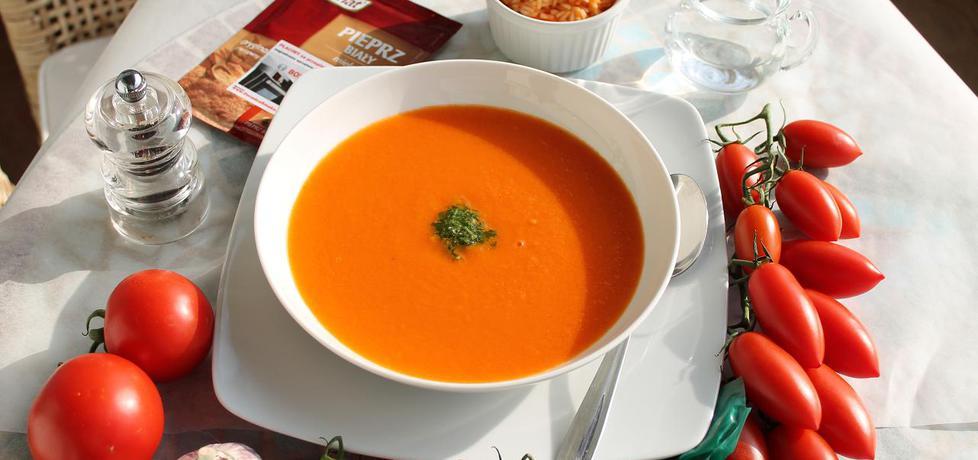 Zupa krem ze swieżych pomidorów z pesto (autor: iwonadd ...