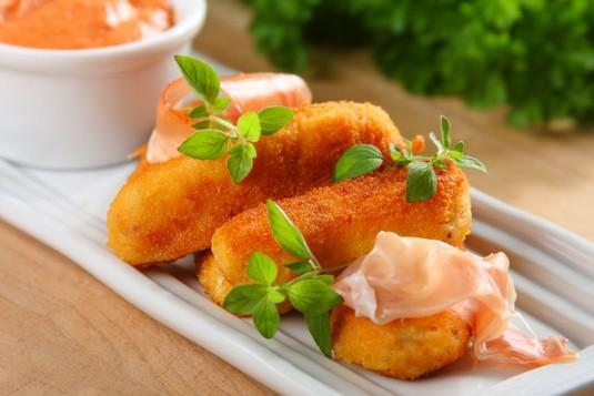 Hiszpańskie tapas: krokiety z szynki