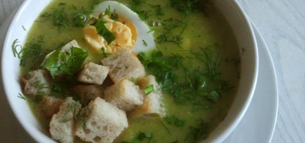 Zupa krem z zielonych warzyw (autor: klementynka ...
