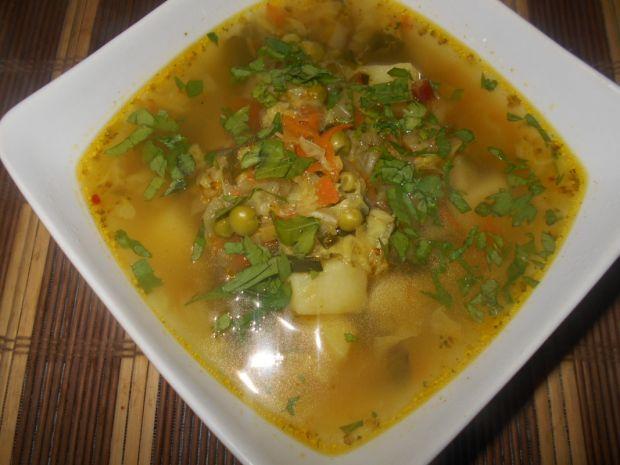 Przepis  zupa wielowarzywna z botwiną przepis