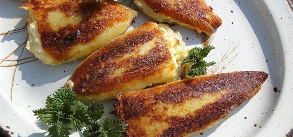 Smażone papryki faszerowane ryżem i fetą (autor: romanowka ...