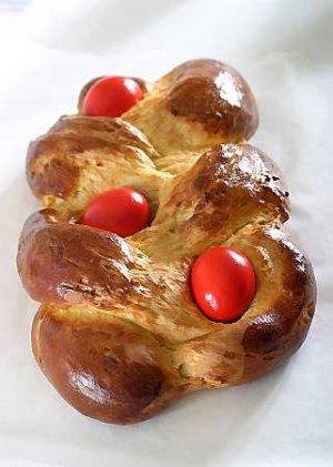 Tsoureki (ciasto wielkanocne greckie)