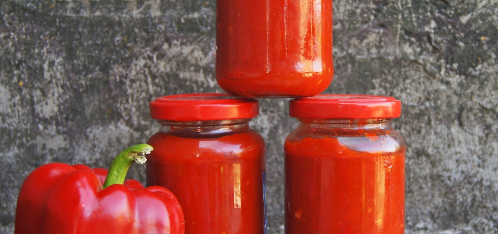 Ostry sos paprykowy do słoików (autor: ania84)