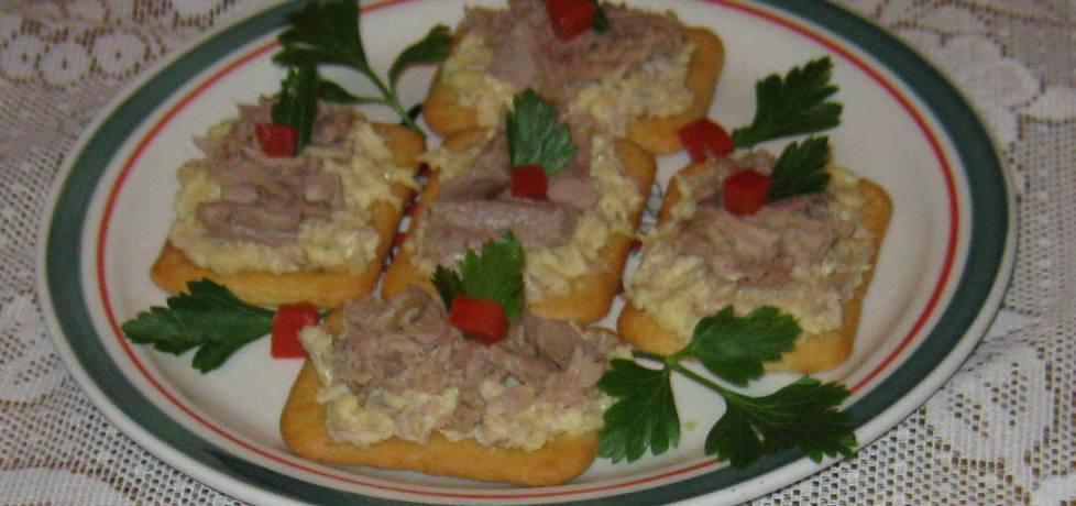 Krakersy z tuńczykiem (autor: katarzynka455)