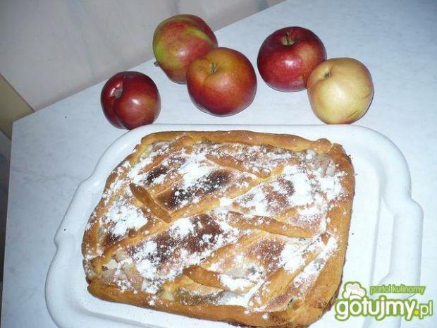 Przepis  placek z jabłkami marty przepis
