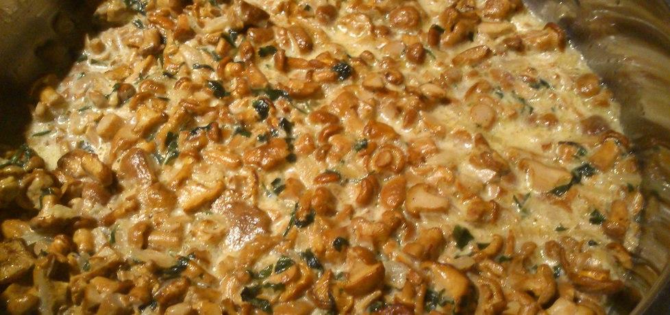 Kurki w sosie śmietanowym (autor: wwwiolka)