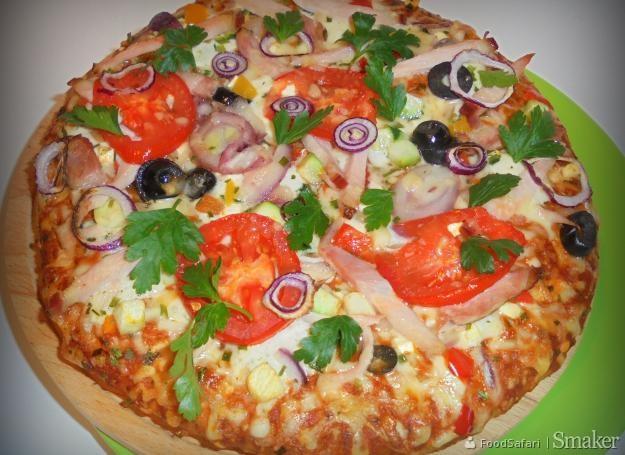 Pizza włosko-grecko-amerykańska