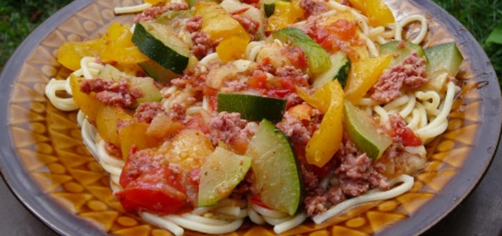 Spaghetti z cukinią (autor: grazyna13)