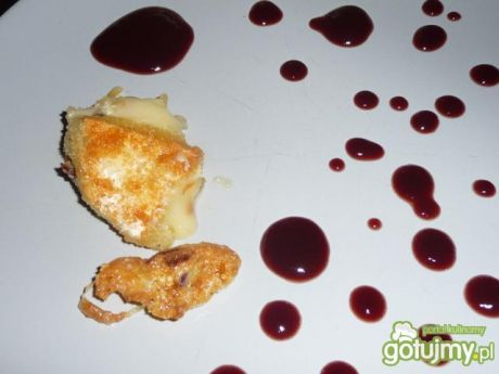 Przepis  ser camembert na gorąco przepis