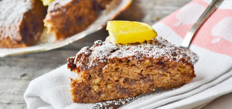 Ciasto czekoladowe z dynią i migdałami (autor: czekoladkam ...