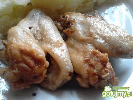 Przepis  skrzydełka miodową  keczupowe przepis