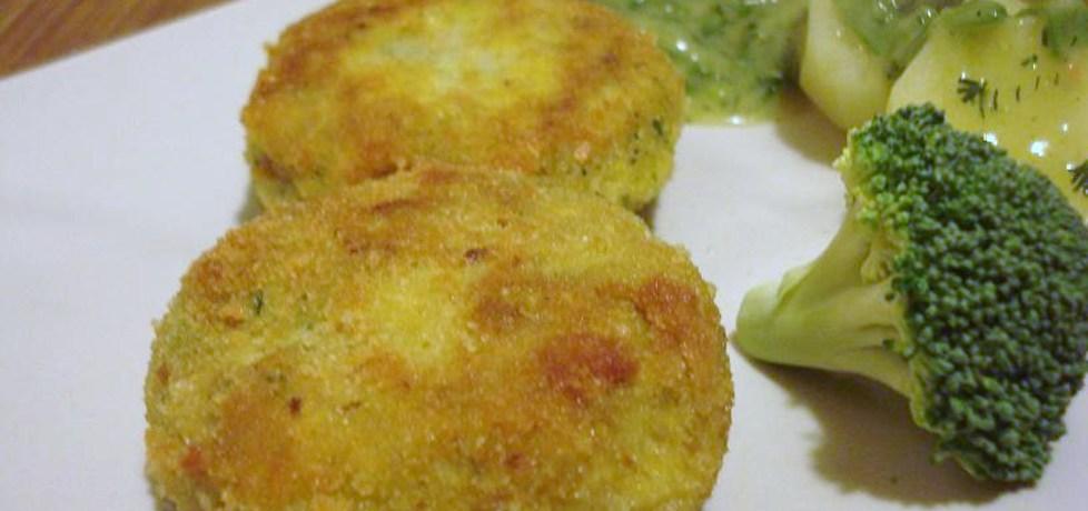 Kotleciki jajeczno- brokułowe