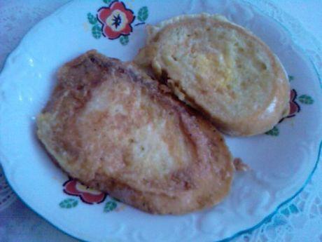 Przepis  chleb opiekany w jajku przepis