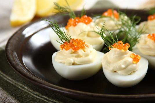 Wyjątkowe jajka z majonezem