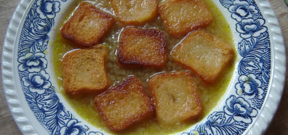 Ekspresowa zupa cebulowa (autor: katarzyna40)