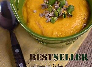 Zupa krem z selera i marchwi  przepis blogera
