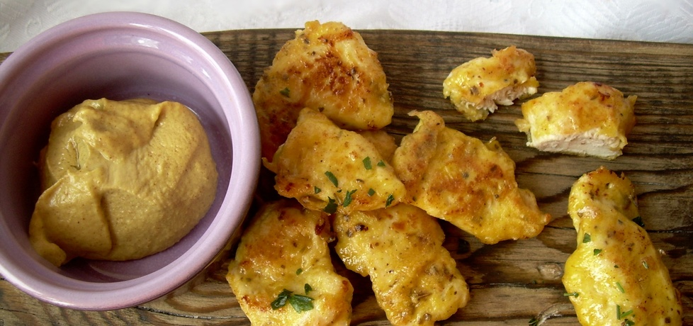 Musztardowe kąski/nuggetsy z kurczaka (autor: diana