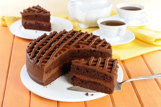 Tort czekoladowy  video