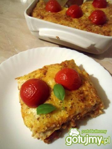 Przepis  lasagne (lazanie) przepis