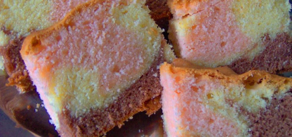 Ciasto kisielowe  trzy kolory (autor: habibi)