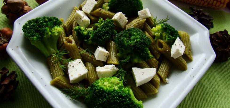 Zielona sałatka z brokułami (autor: iwa643)