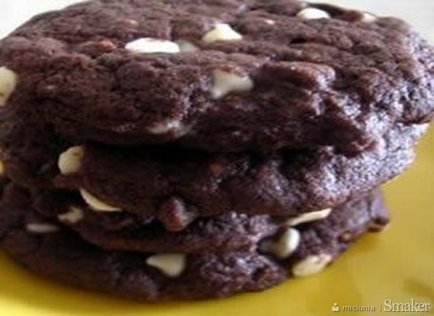 Chocolate brownie biscuits czyli angielskie ciasteczka czekoladowe ...