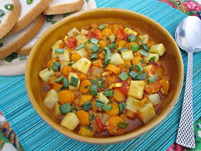 Warzywne curry z sezamem
