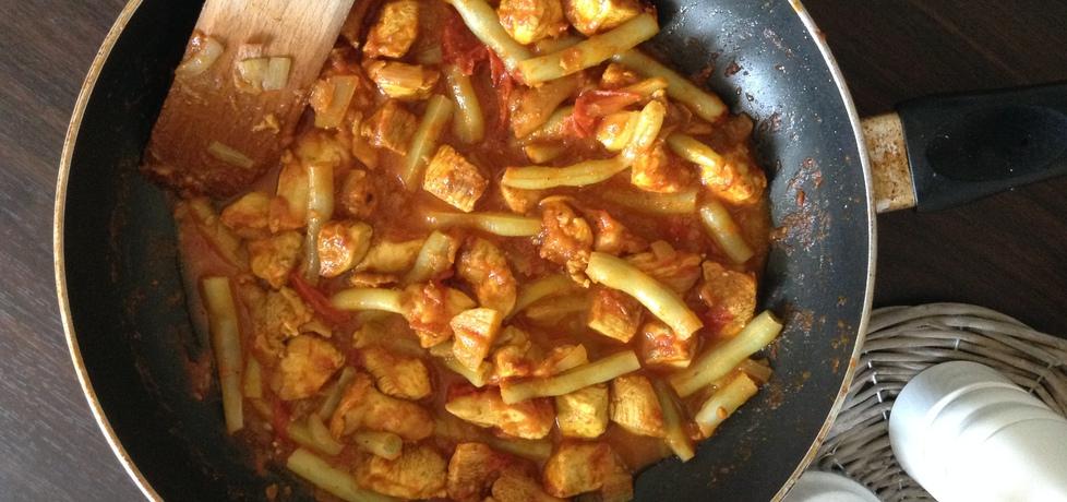Curry z kurczaka z kurkami (autor: renata22)